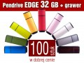 Pendrive EDGE 32 GB z grawerem - komplet 100 szt.