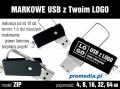 Pendrive Goodram ZIP z grawerem - kolor czarny
