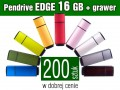 Pendrive EDGE 16 GB z grawerem - komplet 200 szt.