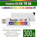 Pendrive COLOUR 16 GB z nadrukiem full kolor - komplet 300 szt.