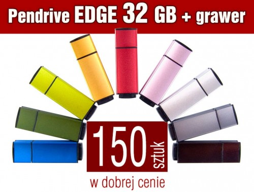 Pendrive EDGE 32 GB z grawerem - komplet 150 szt.
