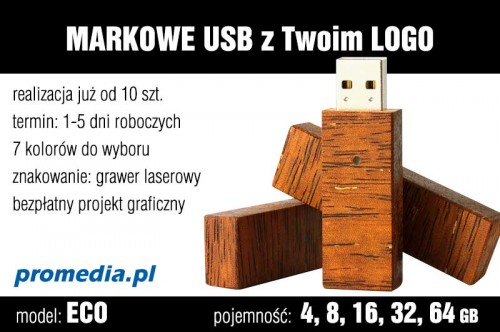 Pendrive Goodram ECO 4 GB z grawerem