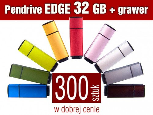 Pendrive EDGE 32 GB z grawerem - komplet 300 szt.