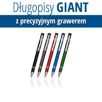 Giant z grawerem