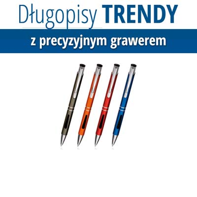 Trendy z grawerem