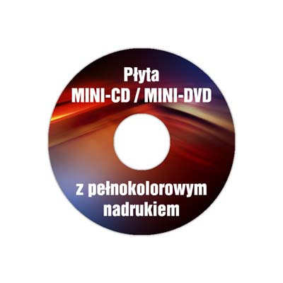 Nadruki mini-CD, mini-DVD